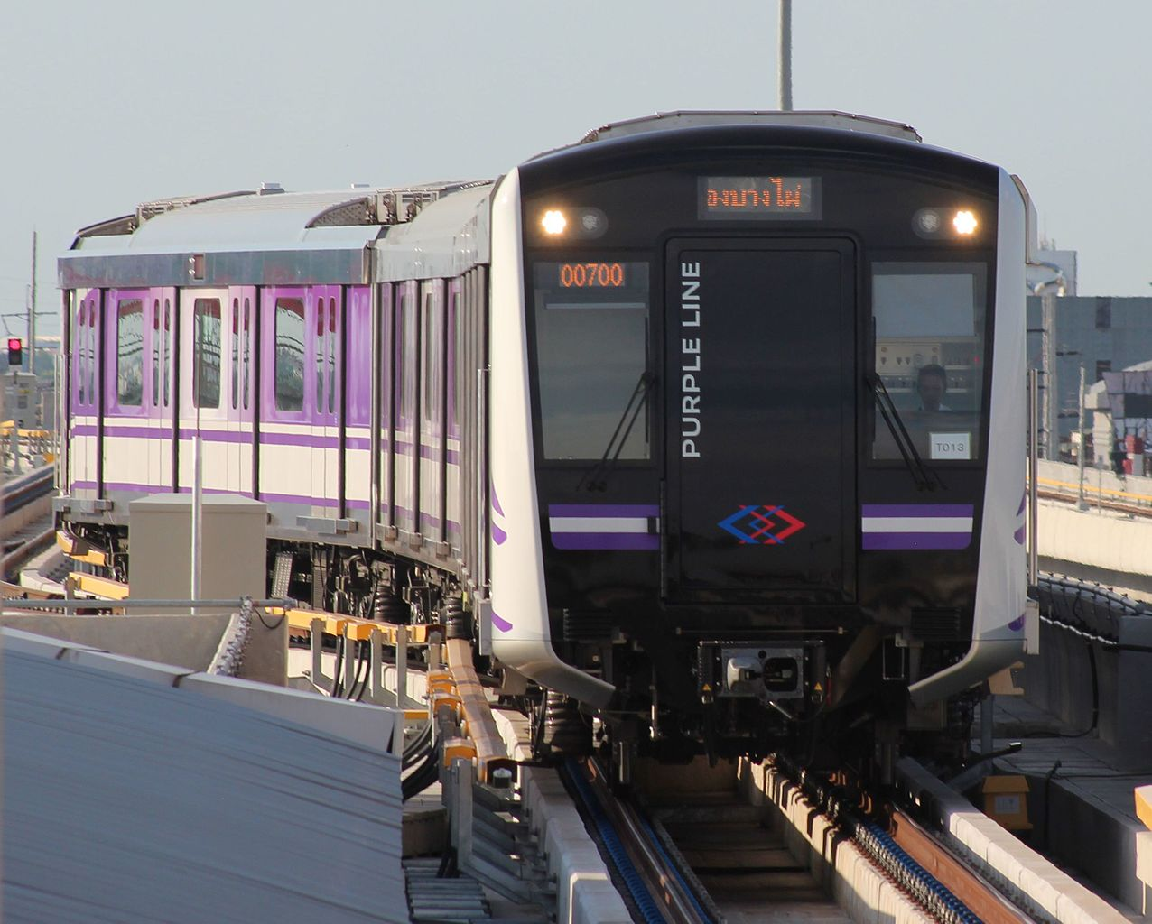 Hundreds stranded as Purple Line train service disrupted during evening rush hours