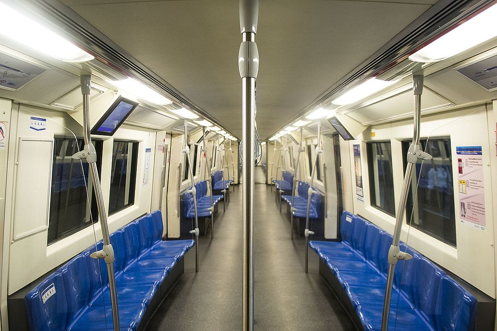 Their Majesties officially open MRT Blue Line