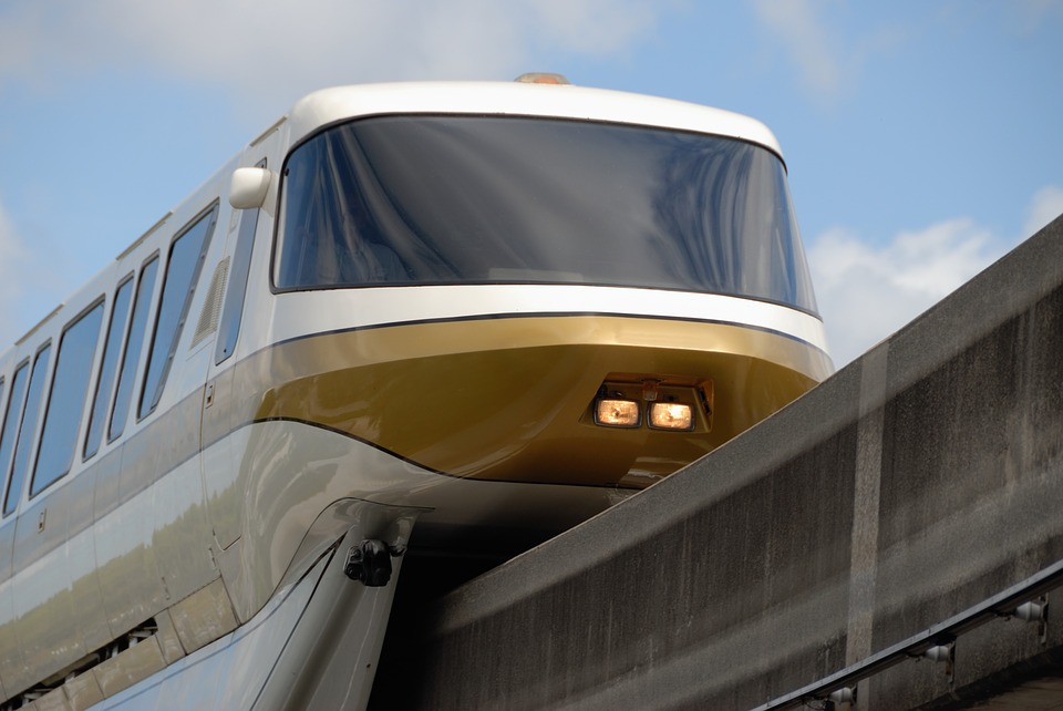 Monorail tram train