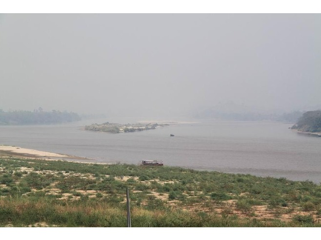 Smoke haze in Nong Khai