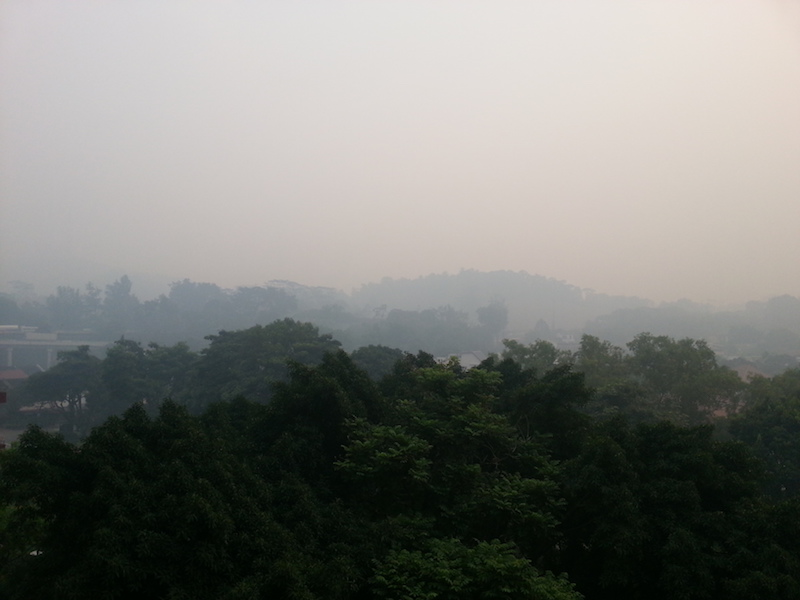 Southeast Asian haze in Singapore