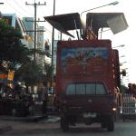 Soda delivery truck in Kalasin