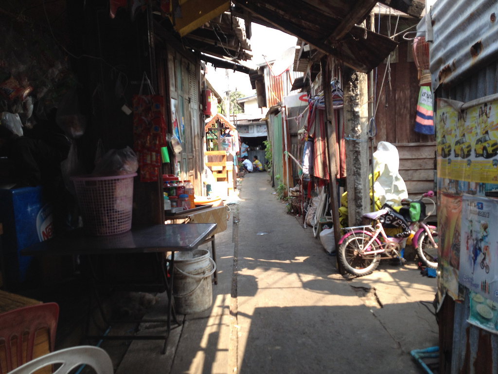 Soi in Prawet District, Bangkok