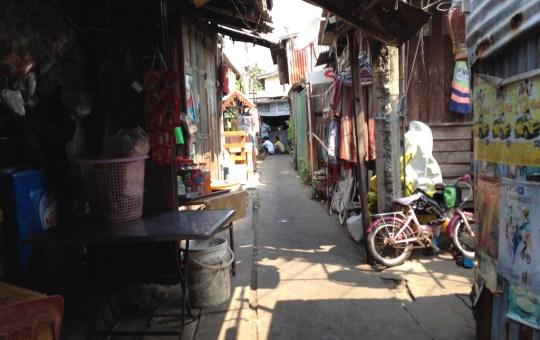 Soi in Prawet District, Bangkok