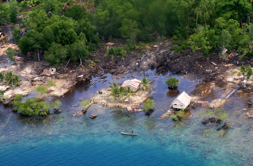 Tsunami, Solomon Islands 2007