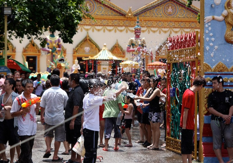 Thailand staged grand Songkran celebrations to illustrate the true spirit of Thai New Year