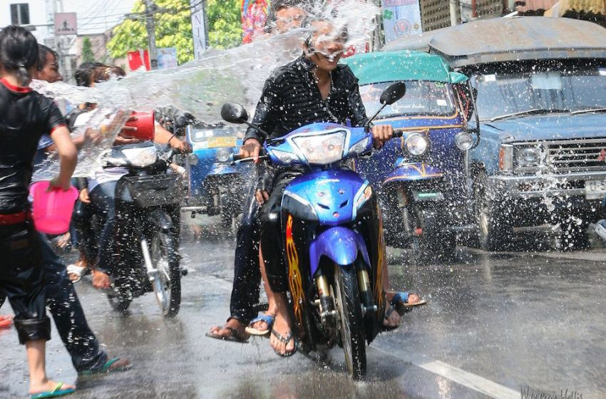 Thais celebrate their New Year with the Songkran festival