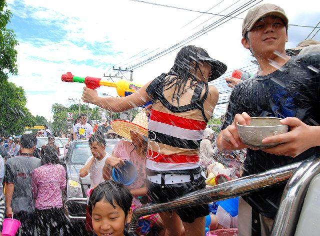 Songkran Celebrations Kick off in Chiang Mai