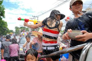 Songkran Celebrations Kick off in Chiang Mai