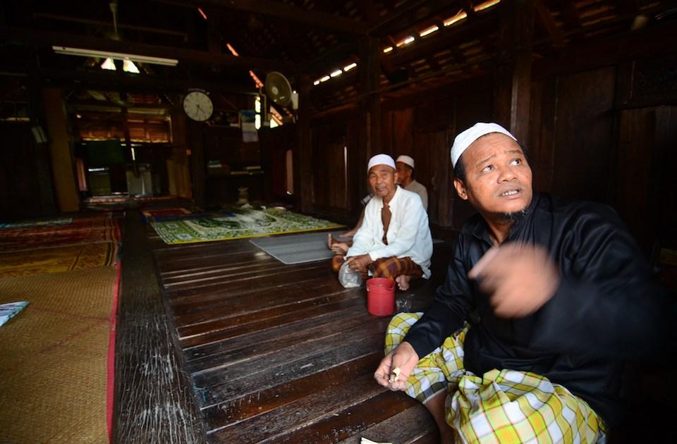 Malay-Muslim men in Pattani