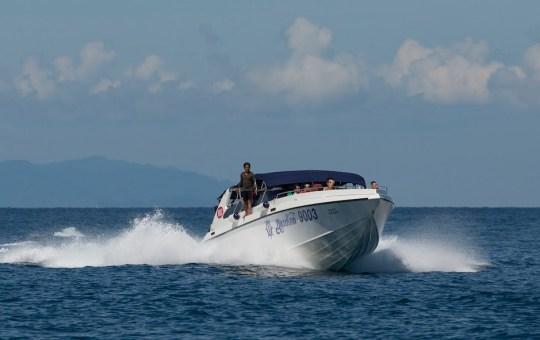 Speedboat in Southern Thailand