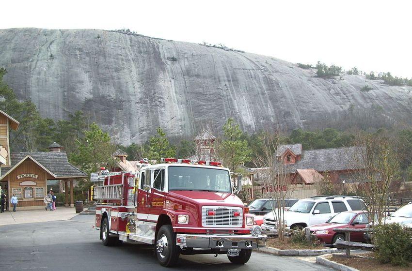 Stone Mountain in Georgia, USA