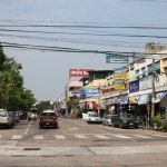 Street in in Ubon Ratchathani town
