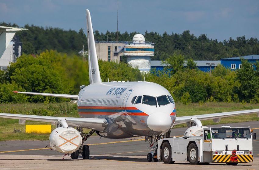 MChS Rossii Sukhoi Superjet 100-95LR