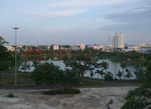 View of Surin town in Norteastern Thailand