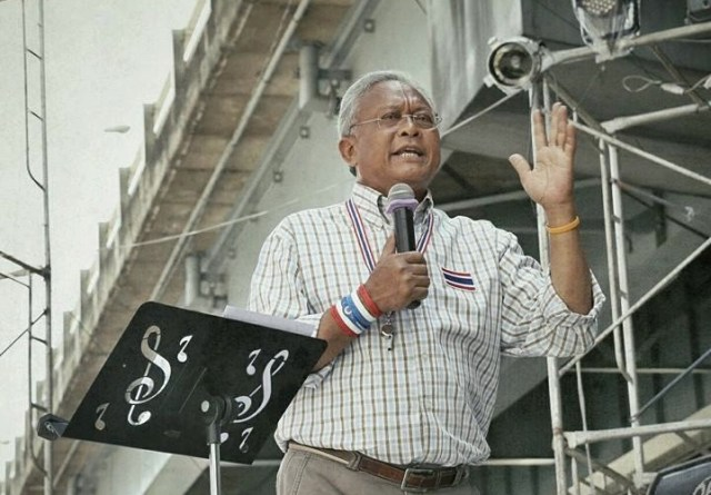 Man who returned whistle to Suthep speaks out