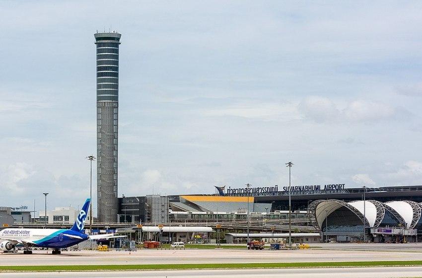 Control Tower at Suvarnabhumi Airport in Bangkok