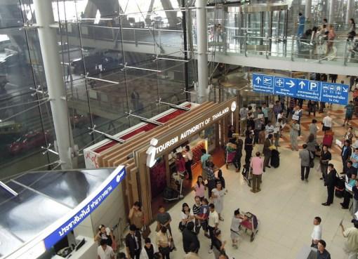 Arrivals Level, Suvarnabhumi Airport, Bangkok