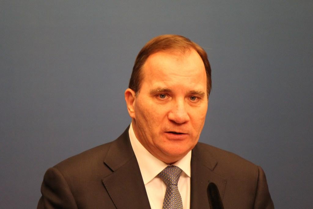 Swedish Prime Minister Stefan Löfven