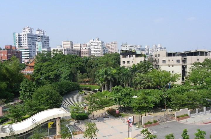 Kinchen Park in Tuchen City, Taipei County, Taiwan