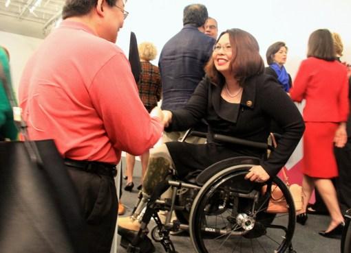 Thailand-born and Illinois Representative Tammy Duckworth