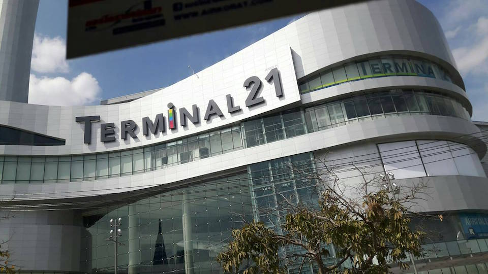 The brand new Terminal 21 shopping mall in Korat
