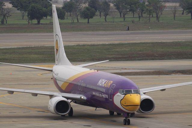 Power failure grounds Nok Air jet, delays domestic flight
