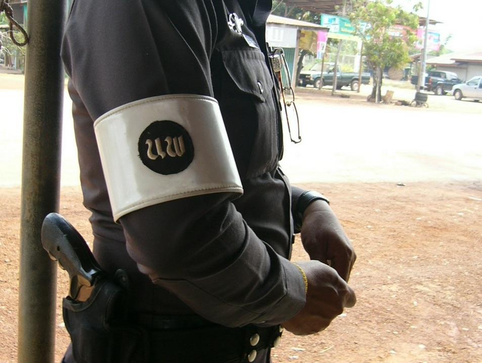 Royal Thai Police officer uniform