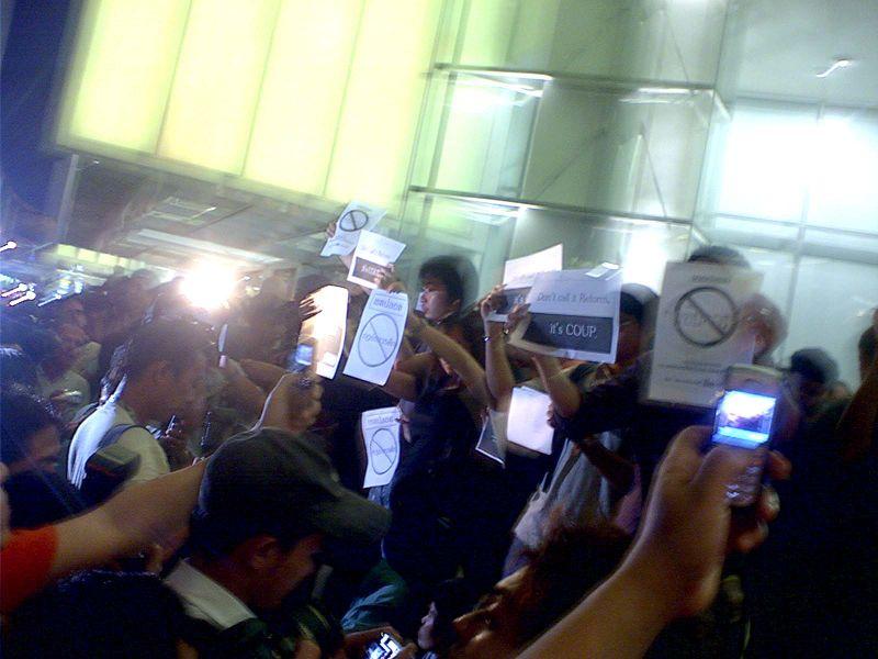 2006 Thai coup d'état protest