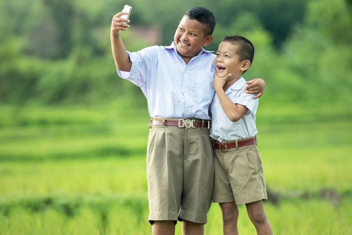 Thai Children Celebrate National Children's Day