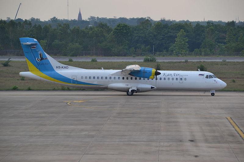 KanAir aircraft at Khon Kaen Airport