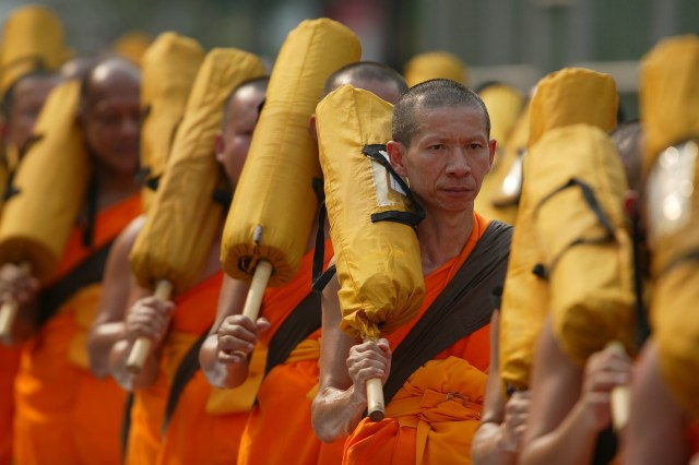Government pledges promotion of Buddhism