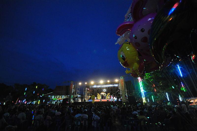 A concert in Bangkok, Thailand