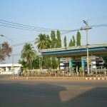 PTT gas station and resting area