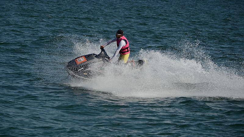 Canadian arrested after recklessly driving a jet ski in Pattaya