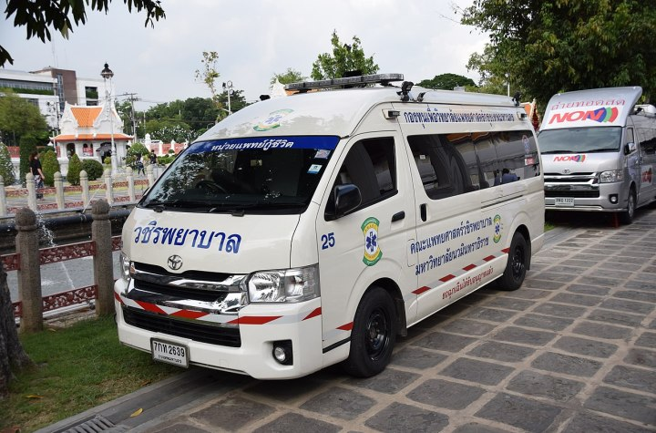 Toyota ambulance in Thailand