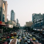 Traffic in Central Bangkok