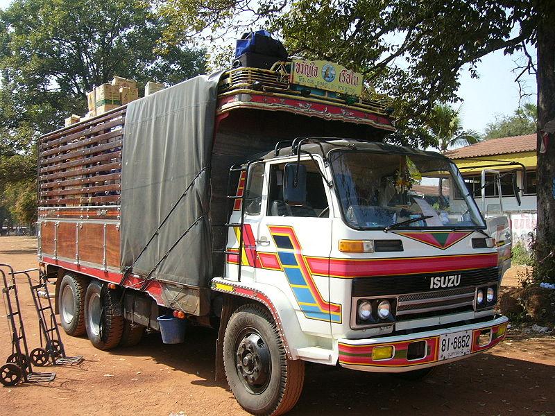 Isuzu Commercial Truck in Si Songkhram, Nakhon Phanom province