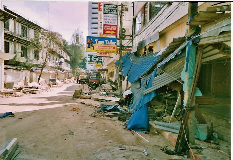 2004 Tsunami in Phuket