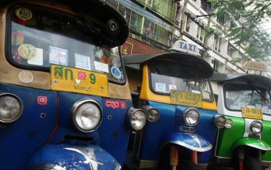 Tuk tuks in Bangkok