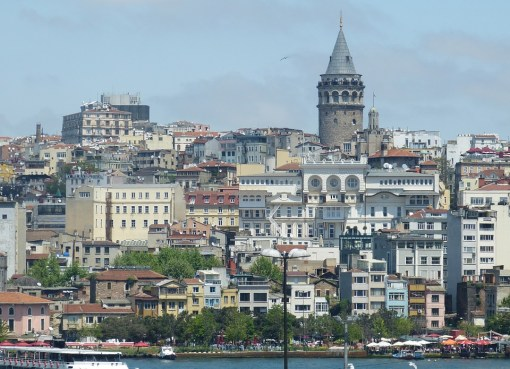 View of Galata in Istanbul, Turkey