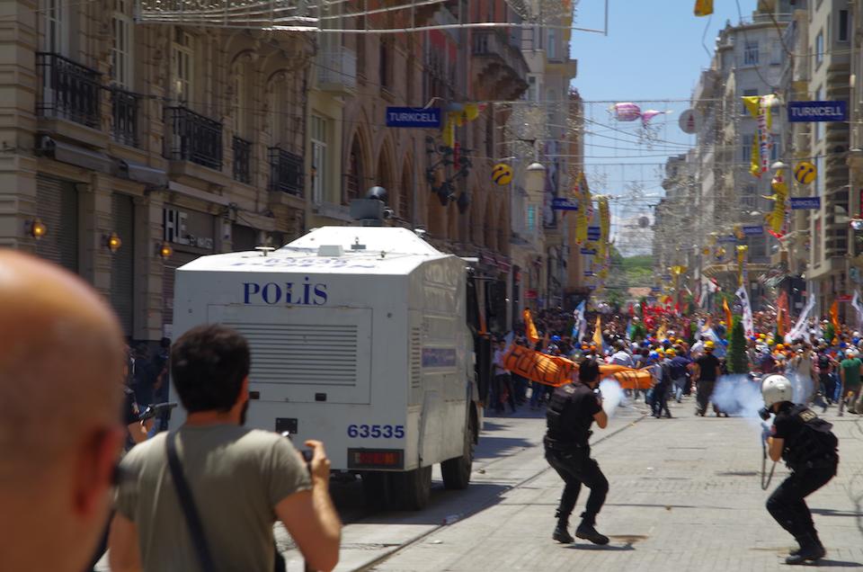 Taksim Square - Gazi Park Protests