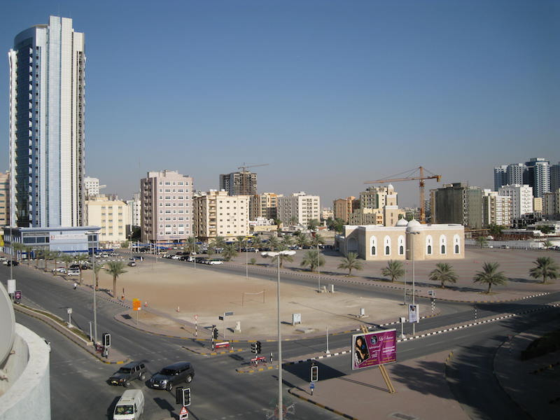 Shaikh Rashed Bin Hameed Mosque in Ajman, United Arab Emirates (UAE)