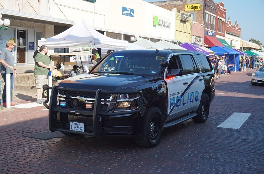 Police Department Chevrolet Tahoe in Texas