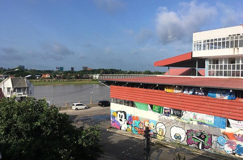Ubon Ratchathani market building
