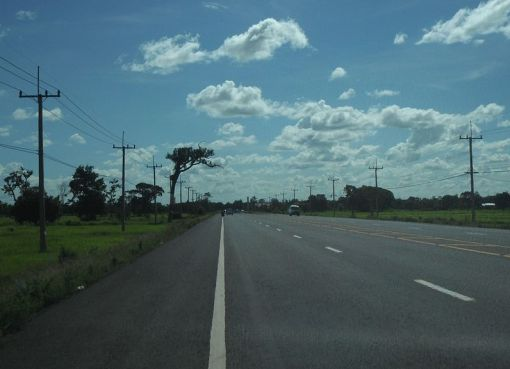 Ubon-Sisaket road number 226