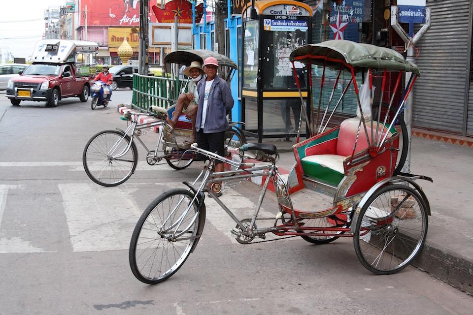 Samlors in Udon Thani