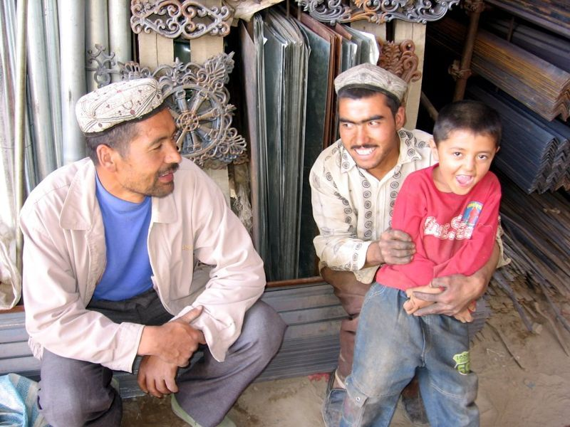 Uyghurs in the Xinjiang Uygur autonomous region of the People's Republic of China
