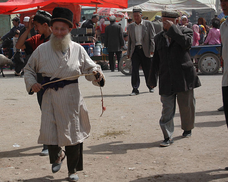 Uyghurs in Xinjiang, China