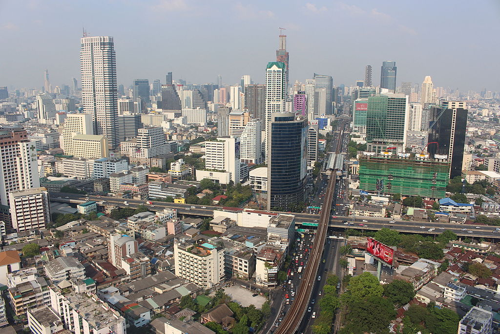 View from the Sathorn Unique Tower, Bangkok